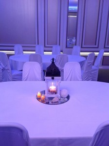 Main table & Centerpieces