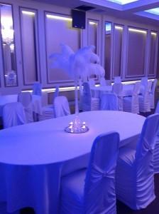 Main table & Centerpieces